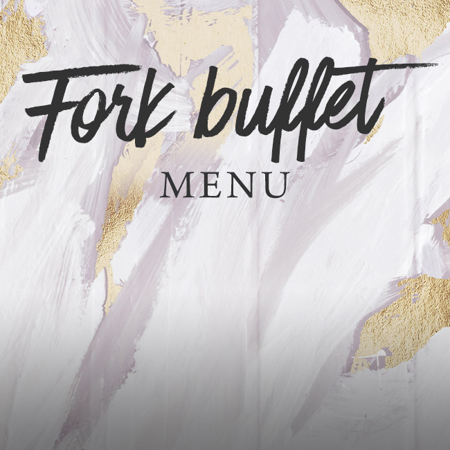 Fork buffet menu at The Deer Park