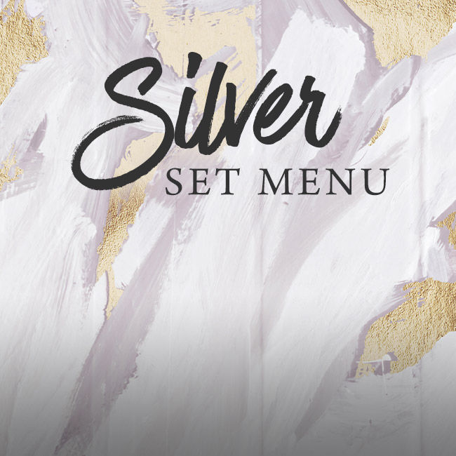 Silver set menu at The Deer Park