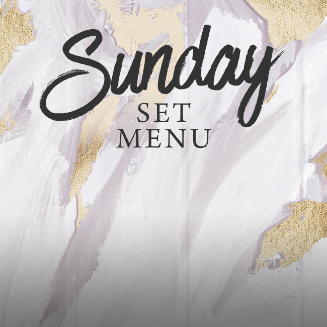 Sunday set menu at The Deer Park
